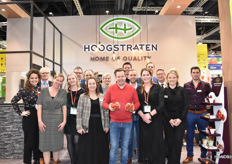 The team of Coöperatie Hoogstraten with star chief Roger Vandamme.