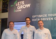 LetsGrow.com brought the Plant Empowerment Book, so anyone who wanted to browse through the book could visit Martin van Tol, Peter Hendriks and Ton van Dijk on the stand.