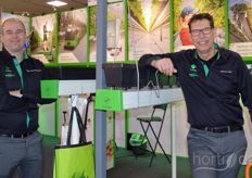 Stefan Nieuwenhuyzen and Wilfred Lange of Metazet FormFlex will continue to emphasise the importance of cultivation on gutters.