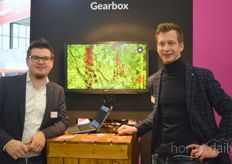 Johan Kreeft and Ab van Staalduinen of Gearbox Innovations which, after the introduction of the digital judge, is now also working on new parts of the product family.