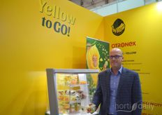 Andrzej Kornafel with Citronex. The Polish company introduced fresh cut fruit salads with IFS certification. The salads can be a mix with whatever fruit the consumer wants and have a shelf life of eight days.
