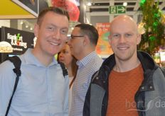 Tim Busschops and Niels Lauwers of 30Mhz took a tour of the show