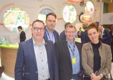Peter Colbers, Rob Gevers, Reinhold Will and Marie Legendre (Syngenta)