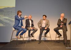 Panel discussion during Koppert's event on Wednesday