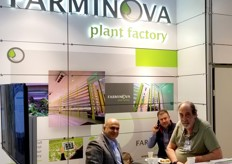The team with Farminova was present at the show for the first time
