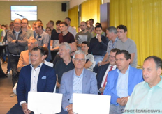 Invited people and staff of Certhon were present during the speeches of Hein van der Sande en Hans Hoogeveen.