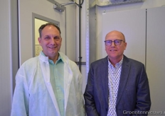 Aad van den Berg (Delphy Improvement Centre) and Klaas van der Sande (Certhon)