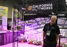 Craig Adams with California Lightworks. The company has been in the industry for ten years.