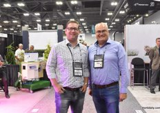 Pascal den Heijer with Holland Scherming & Rob van Leeuwen with F&H Crone visited the show and participated in the global 30 Seconds competition.