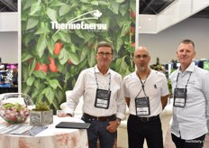 Part of the ThermoEnergy team: Joost Vercaemst, Mark Duczman & John Froese