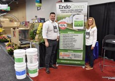 Wesley Martin & Judy McWhorter with EndoGreen, claiming to offer up to 15% on the heating costs