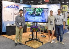 Frank Somma, Saskia Reimann & Guido Cabas with Fiberlane. Since there's market for specialized products and good information to go with it in the US and Canadian market, the company is always present at Cultivate