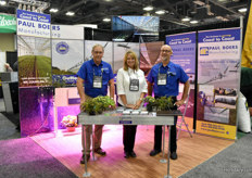 Rudy Ouwersloot, Darla Lanphear & Mike Rider with Paul Boers Manufacturing.