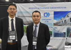 Ning Wang & Liang Qi with Beijing Kingpeng Greenhouse, doing more and more businesses in the US