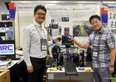 Jeremy Park & Chang Joon with Helper Robotech. The Korean manufacturer Helper Robotech develops machinery and solutions to automate the grafting process