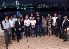 Tomita Technologies held a special dinner for its employees and its partners Holland Gaas, Royal Brinkmann, Dres Pauwe, Priva Asia and VB Climate