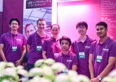 The Japanese team of Philips Horticulture LED Solutions; offering more advanced and dedicated LED solutions to the growing Japanese market.