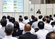Many well attended speaker sessions were part of the Agri Business Japan sessions.