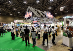 Fujitsu; another Japanese multinational that offers controls for high tech horticulture operations.