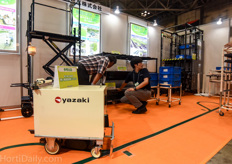 Yazaki is a Japanese manufacturer of logistical equipment like pipe rail trolleys and AGV tractors.