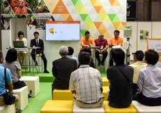 Delphy seminar at the booth of Seiwa.