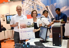 Kenneth Jakobsen and Julia Charnaya of Priva Asia promoting FS Performance.