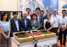 The team from Tomita Technologies, including their partners Dres Pauwe, VB Climate and Priva Asia.