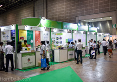 The Korean Horticultural Pavilion is seen more and more at horticultural technology trade shows all over the world lately.