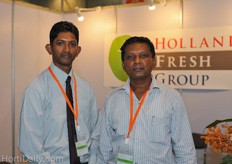 Saman Dasanayake and Jayampathi Pathirana from Jayampathi Lanka Exports represented Fibrosoil horticultural products. They are looking to break open markets in Europe for their coir growing substrates.