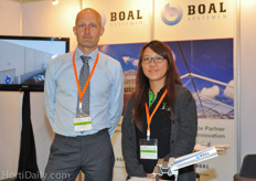 Peter Bakker from BOAL Aluminium Systems.