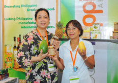 Minky Alba and tarciana Redondo from the Philippines Department of Agriculture.