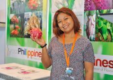 Mildred Dacuycuy from Refmad: one of the biggest dragon fruit growers in the Philippines