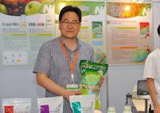 Bock Hwan Kong from Nousbo fertilizers South-Korea