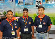 Team from Intercrop Thailand