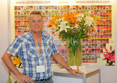 Bart Duijvesteijn from Van den Bos Flowerbulbs was exploring the possibilities for exclusive flower bulbs in the Asian market