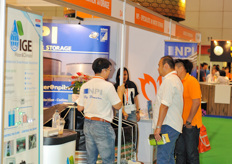 NPI water storage got a lot of interest for their storage tanks; not only for agricultural purpose, but also for utility services.