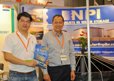On the right side mr. Chayut Chowsomphop represents NPI in Asia.