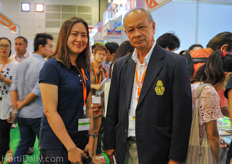 Editors Supanee and Prem Na Songkhla from Kehakaset Agricultural Magazine.
