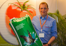 Arie van de Wijgert from Ferm O Feed informed growers and farmers about the use of organic fertilizers.