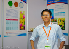 Mr. Tony Ji from Shanghai Wintong Chemicals