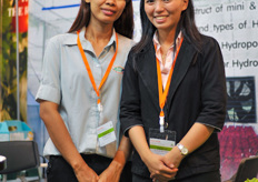Anchalee Leulon and Julalak Bhucksash From ACK international