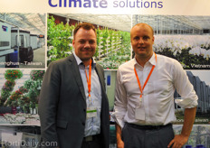 Jan Pedersen from Ellegaard and Piet Keijzer form Priva Asia.