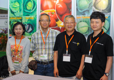 Team from Asia Seed. 2nd right is Asia Seeds Ceo Kyoung-Ou RYU