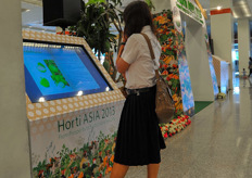 Interactive narrow casting systems with information on horticulture.