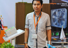 PPS Poultry Equipment is now active in horticulture. according to Krit Phansamrit more growers are interested in NFT/Hydroponic growing systems. He said that Thai supermarkets are demanding hydroponic, disease free and residue free vegetables.