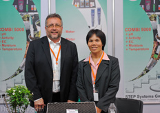 Harald Braungardt from Step Systems together with Dr. Shermarl Wongchaochant from Kasetsart University.