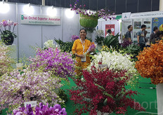Also present: the Thai Orchid Exporter Association
