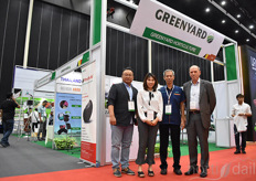 Peter Sallaets with Greenyard Horticulture and the local sales team