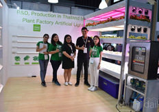 The team with CM's is showing their indoor farming solution: the smart factory. A demo centre will be erected later this year.
