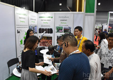 A lot of interest for the Greenyard Horticulture products